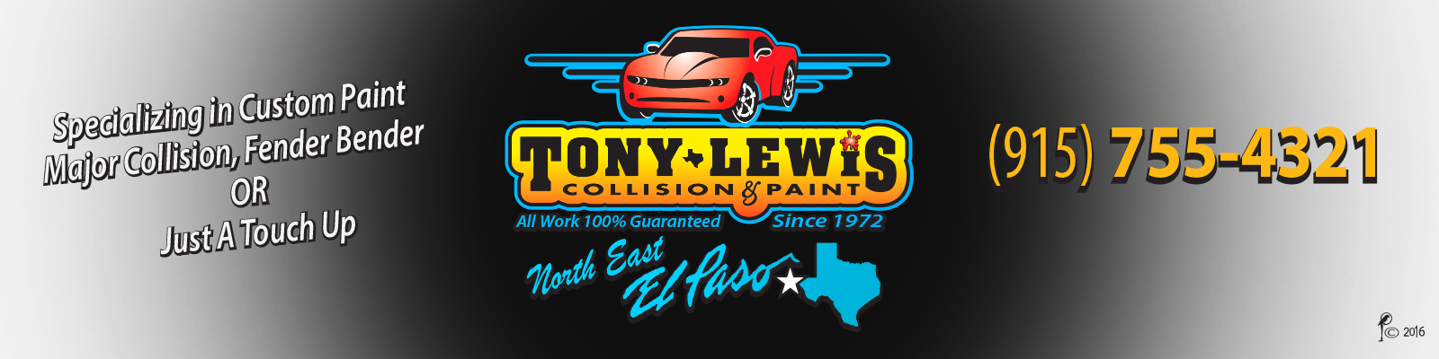 tony lewis collision paint auto body repair